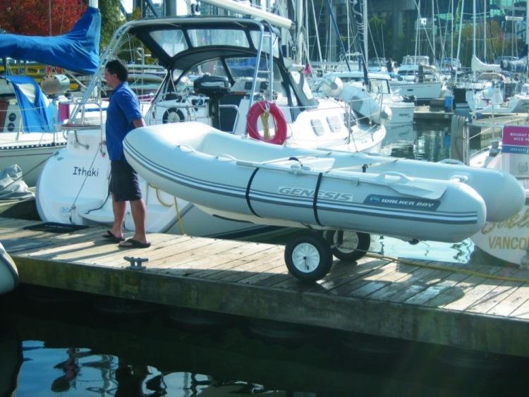 Тележка для лодки своими руками фото