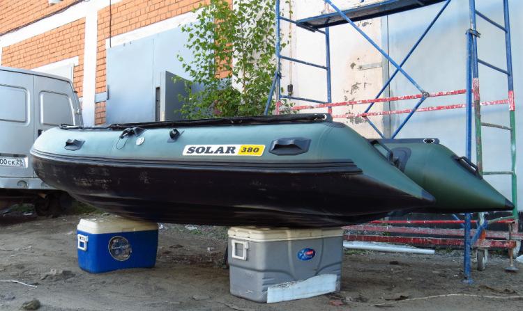 изготовление лодок солар