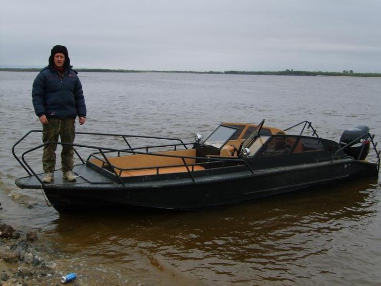 фото тюнинг катера амур