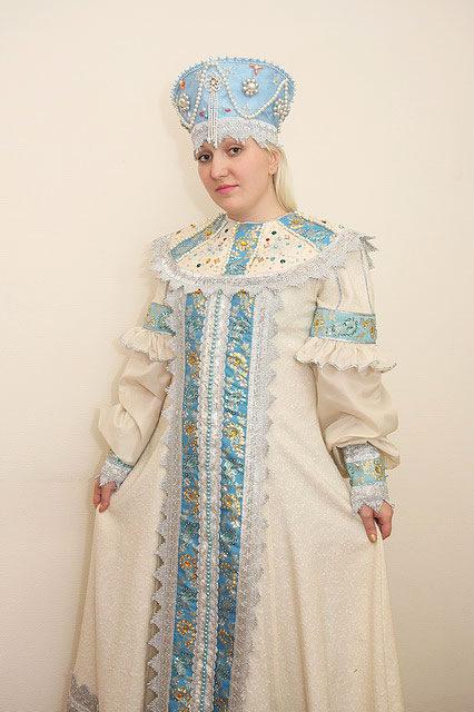 платье русское народное.
