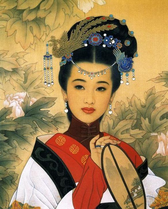 Женский образ в китайской
