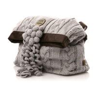 Вязание крючком схемы бесплатно: черно-белая сумка.