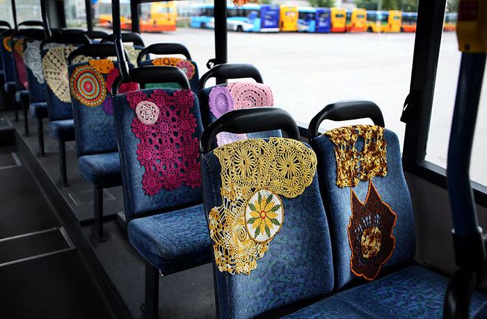 美丽的钩针花在公交车开放 - 钩针姐姐 - 钩花博客钩针图解crochet blog