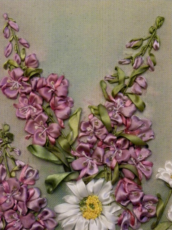 Silk ribbon - Bing Images Embroidery ribbon Pinterest