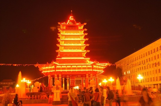 Эоиста, Пагода Семи Дней.
