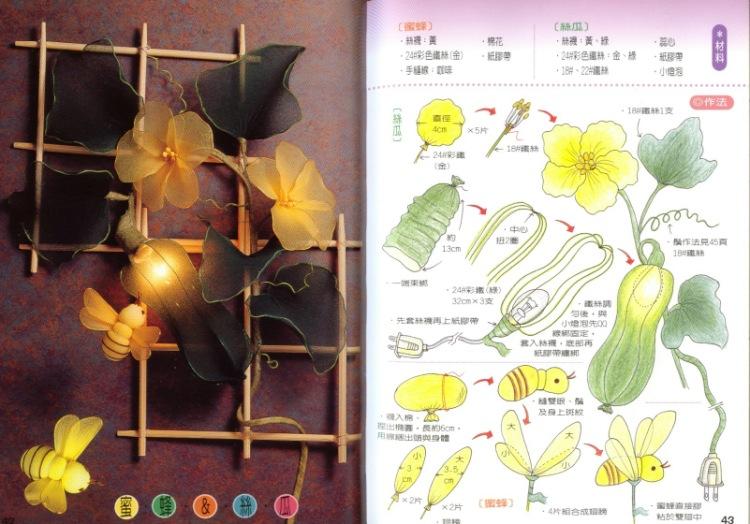 Цветы из капрона своими руками мастер класс для начинающих 96