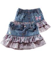 Как из старых джинс сшить юбку?И стоит.