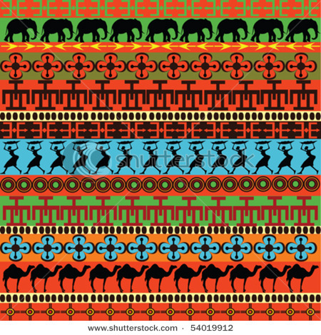 Ethnic african pattern 8 eps + preview 27,22 Mb.  Turbobit Letitbit.