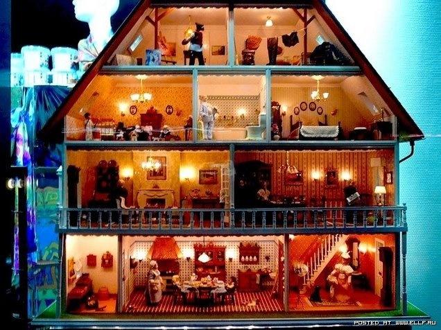 Кукольные замки своими руками