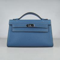 Сумки женские Hermes Hermes Kelly bag 22 cm H008 bl-2. Hermes Hermes...
