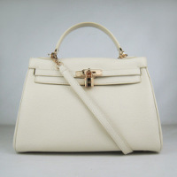 Сумки женские Hermes Hermes Kelly bag 32 cm 6108 wh_g.