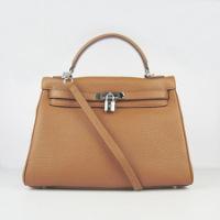 Сумки женские Hermes Hermes Kelly bag 32 cm 6108 orange g. Hermes Hermes...
