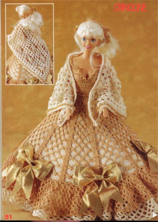 Gutsylane Вязаная одежда для кукол крючком и спицами: схемы...
