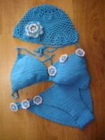 вязание шапок беретов, вяжем перчатки крючком.