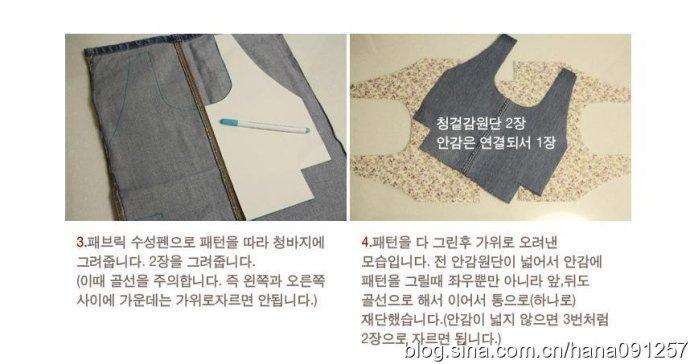 Сумка из джинсы на подкладке - Бяземанки.