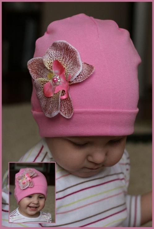 Как украсить детские шапки своими руками