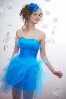 100% платье для выпускного бала.  Корсетное платье на шнуровке.