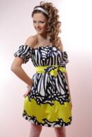 платье из атласа - Выкройки одежды для детей и взрослых.