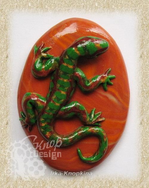Ящерка из полимерной глины своими руками пошаговое фото 71