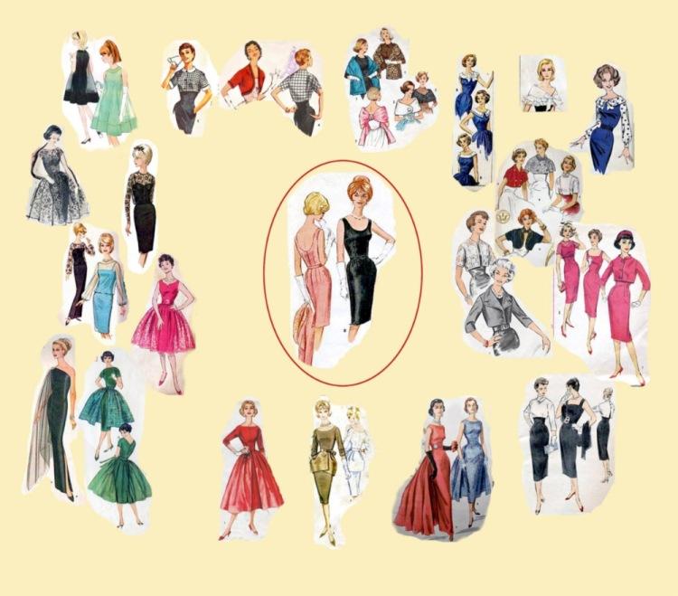 Мода 50-60х годов.
