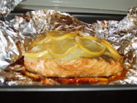 ...В фольге можно запекать как мясо, рыбу, овощи или