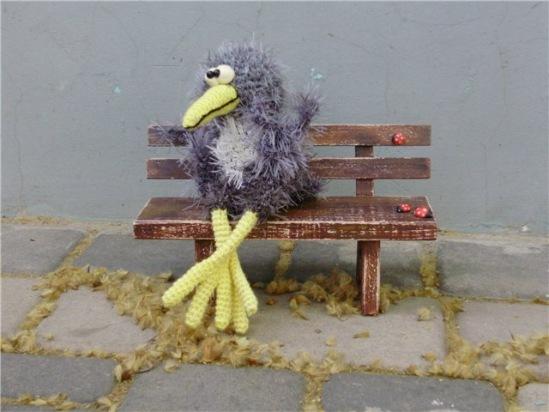 钩针下精美的孔雀(21) - 柳芯飘雪 - 柳芯飘雪的博客
