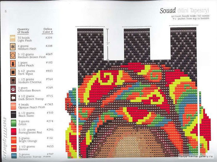 Гост колонн.  Наборы для вышивания Вышивка.  Украшения от Anabel - Схемы для бисероплетения ВКонтакте.