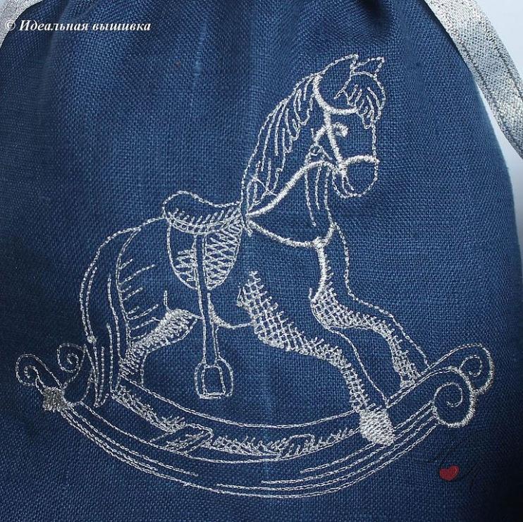 схеми за бродерия и плетиво на коне