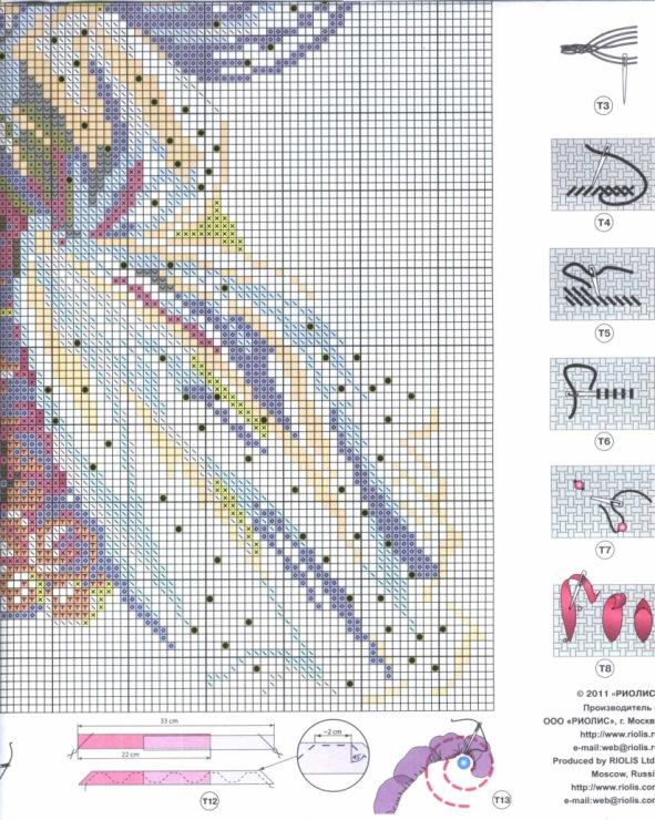 Страница 5 схемы вышивки