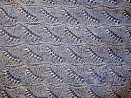 Вязание спицами схема платок