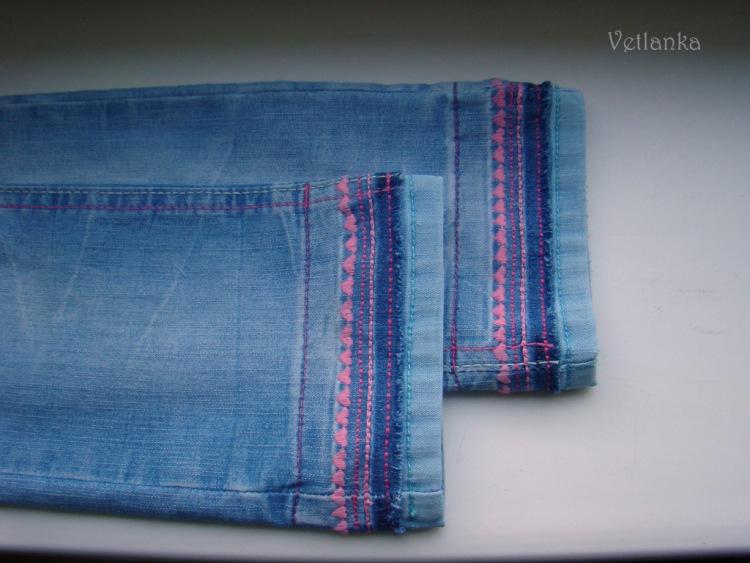 Как удлинить детские джинсы своими руками 63