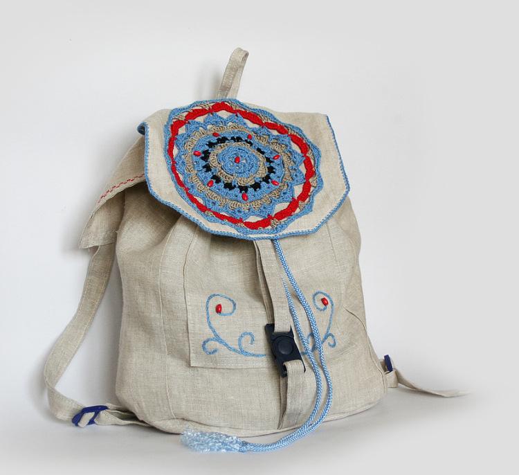 Вязанию летних сумок