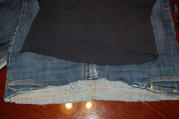 Как сшить джинсы на машине