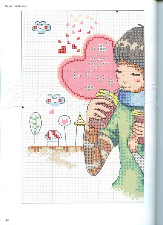 Love is схемы для вышивки 251
